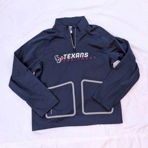 Houston Texans Football Quarter Zip NFL Jacket